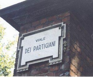 Straße der Partisanen in Parma