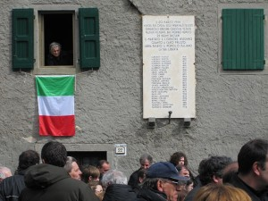 Gedenktafel in Cervarolo