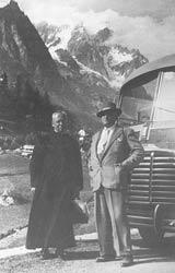 Felice Pozzo und Dr. Michelangelo Ferrero
