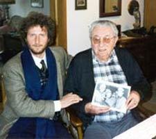 Alberto Custodero zu Besuch bei Anton Renninger 1998 in Erlangen