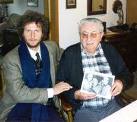 1998: Alberto Custodero zu Besuch bei Anton Renninger in Erlangen
