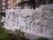 Denkmal für die Frauen im Widerstand in Carrara