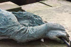 Partisaninnendenkmal in Venedig