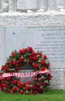 Denkmal für den Anarchisten Alberto Meschi