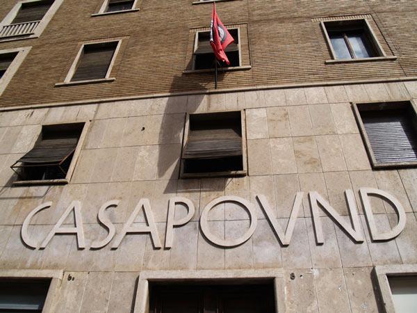 CasaPound-Parteizentrale in Rom