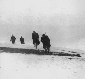 Partisanen in den Bergen