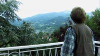 Annita Malavasi vor Monte Ventasso